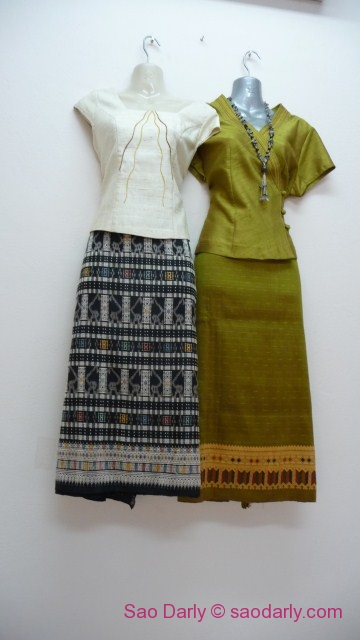 Laos Silk Skirt