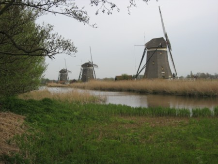 Dutch windmills in Stompwijk
