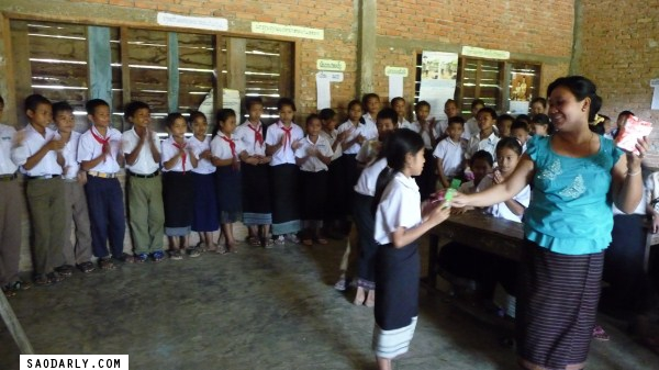 Teachers Day in Pakse, Laos