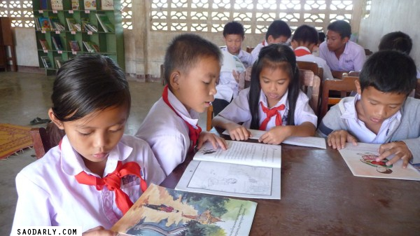 laos reading promotion