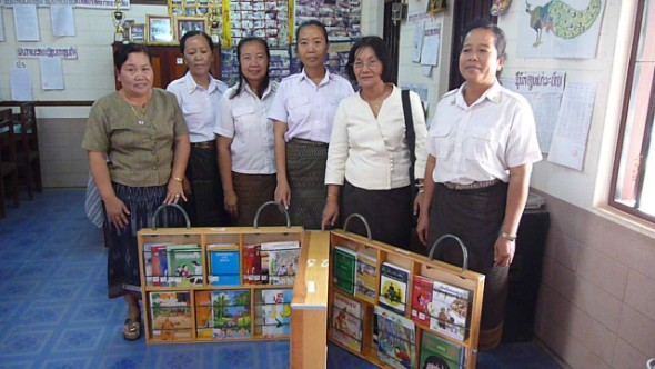 10th Book Box Delivered in Laos