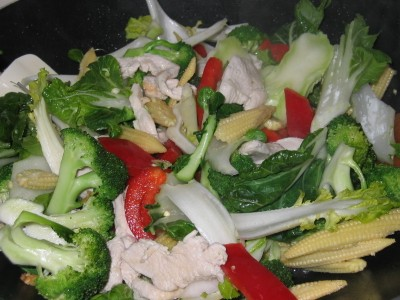 Stir Fry Chicken with Mixed Vegetables