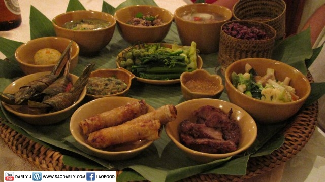 Food at Kua Lao Restaurant