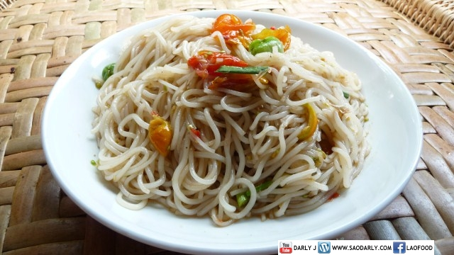 Lao Spicy Noodle Salad