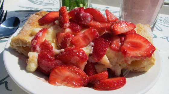 Strawberry Tart - La Place Restaurant