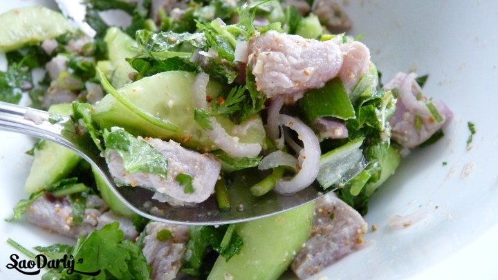 Lao Food - Tuna Salad