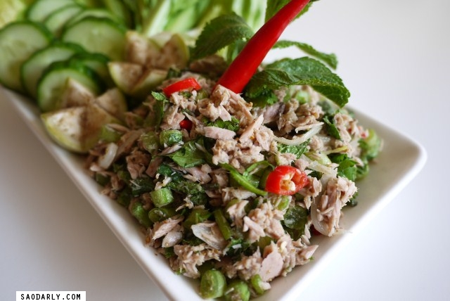 Spicy Tuna Salad from Canned Tuna
