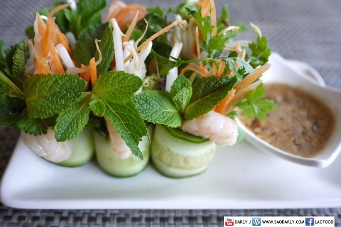 Shrimp Cucumber Roll