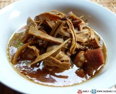 Tom Khem with Dried Bamboo Shoots
