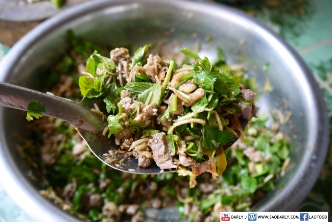 Minced Duck Salad and Duck Soup