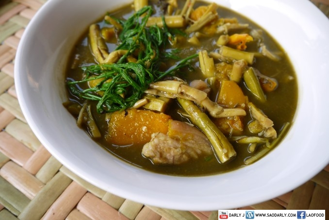 Bamboo Shoot Soup with pork
