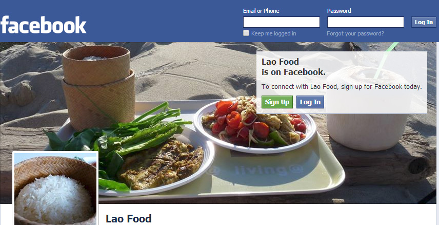 Lao Food Page is back