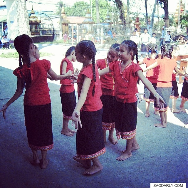 Lao Children Dancing