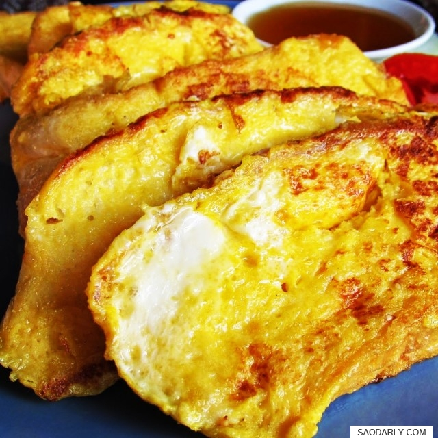 French Toast in Vang Vieng