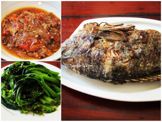 Grilled Fish and Tomato Chutney