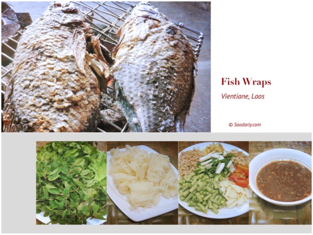 Grilled Fish Wraps