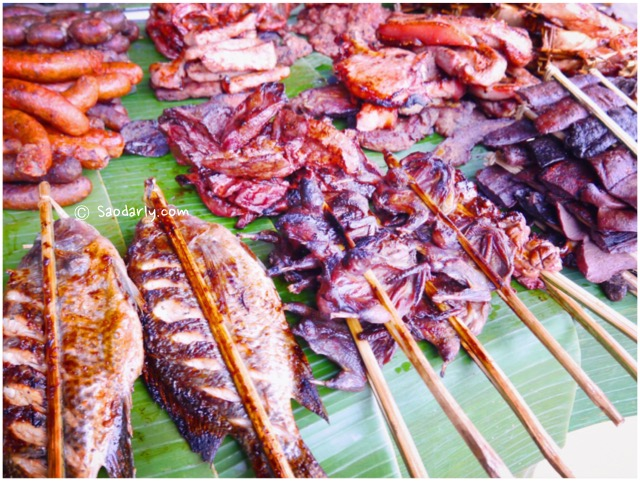 grilled food laos