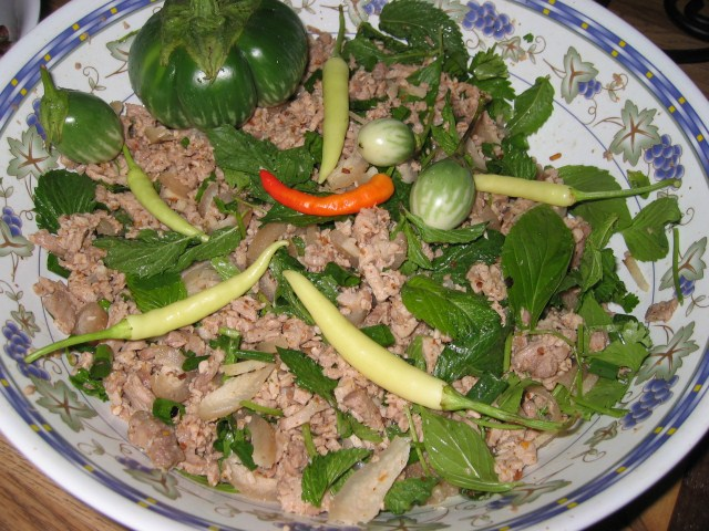 Laap Moo or Mince Pork Salad