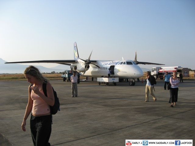 Lao Airlines - Pakse Airport