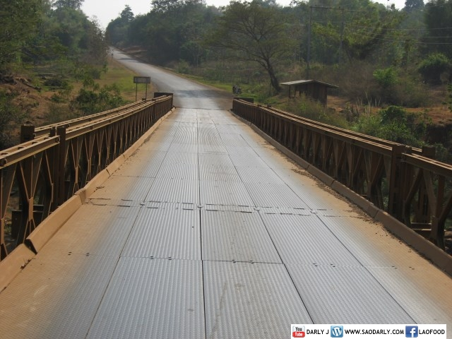 bridge in Laos