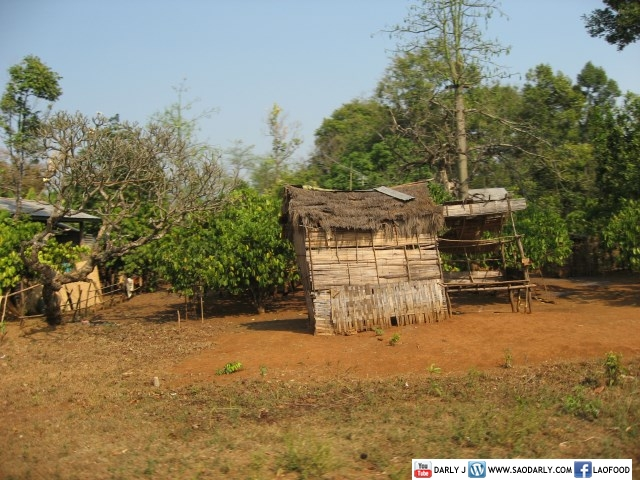 House in rural Laos