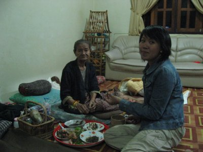 Grand-Mama and DJ