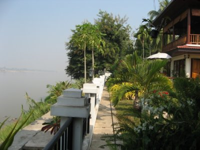 view over the Mekong River