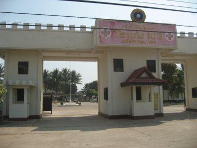 Hospital 103 in Vientiane, Laos