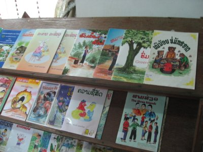 Children's Library at the National Library of Laos