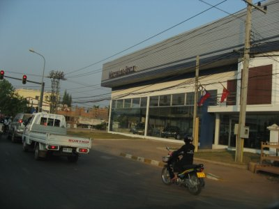 Mercedes dealer in Vientiane