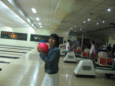 DJ bowling in Vientiane