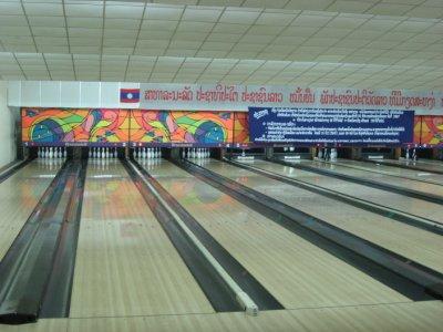 bowling in Vientiane