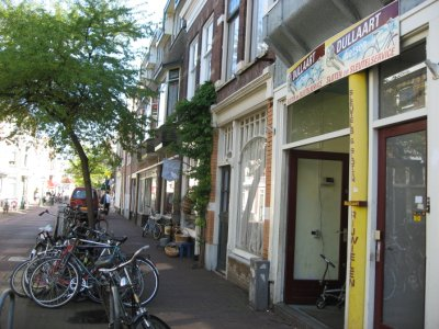 Bicycle shop in Leiden