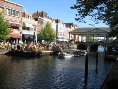 Leiden Town Hall area