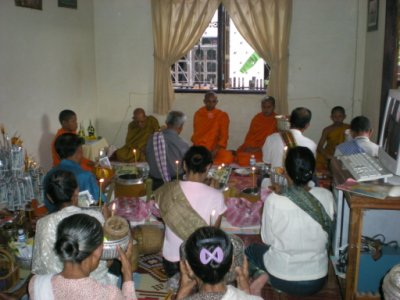 Morning Alms Giving