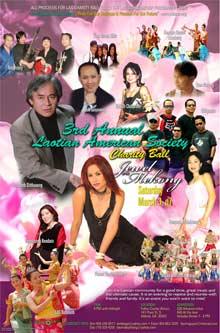 LAS Charity Ball poster