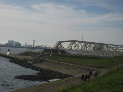 movable dam gate, Hoek van Holland