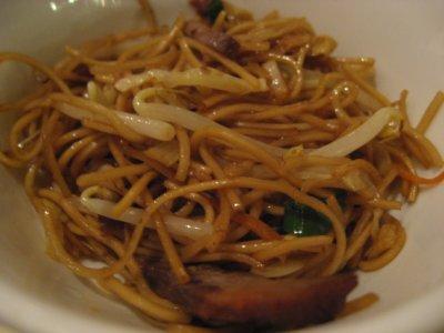 Fried noodles