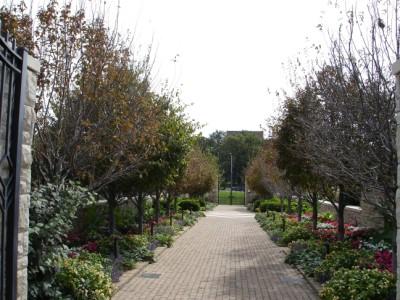 Ewing and Mauriel Kauffman Memorial Garden Entrance