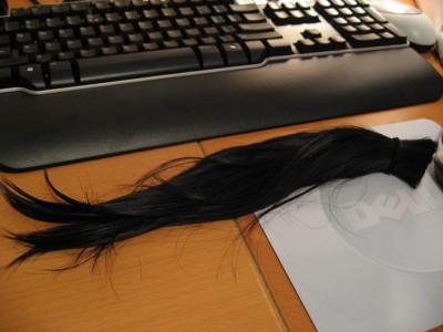 DJ's hair cut