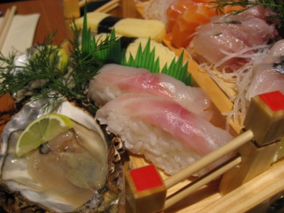 Sushi and Sashimi