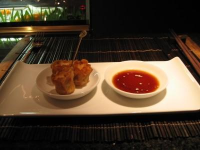Homemade Prawn and Pork Dumplings
