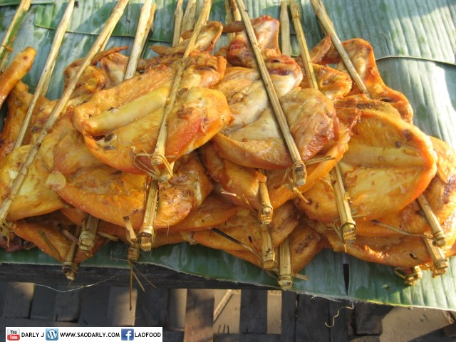 Lao Street Food on New Year