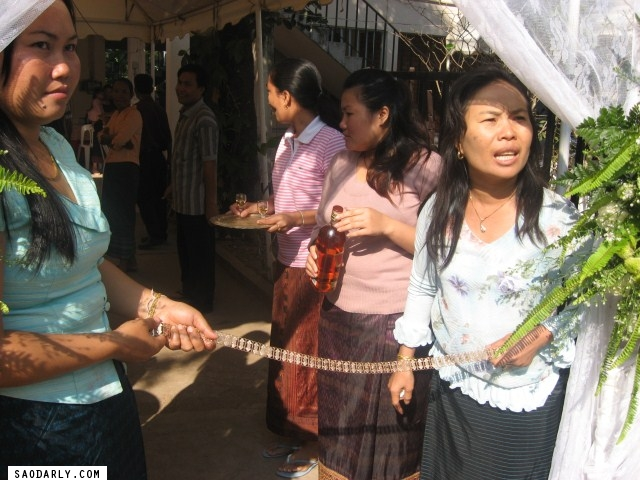 Wedding in Laos