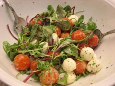 mozzarella salad