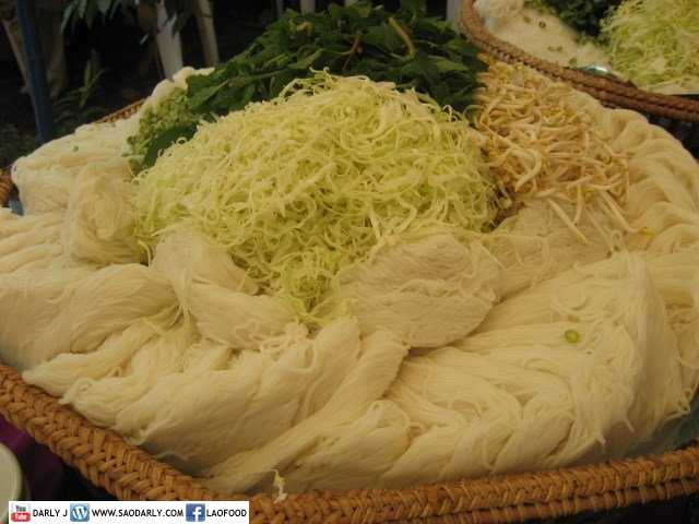 Lao Food at Lao Wedding