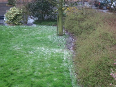 hailstorm in Netherlands