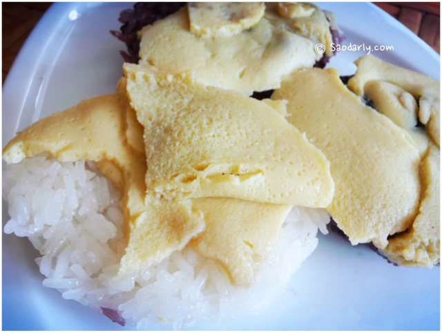 Sticky Rice and Egg Custard