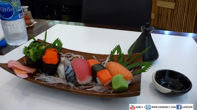 Sushi at Suvarnabhumi Airport