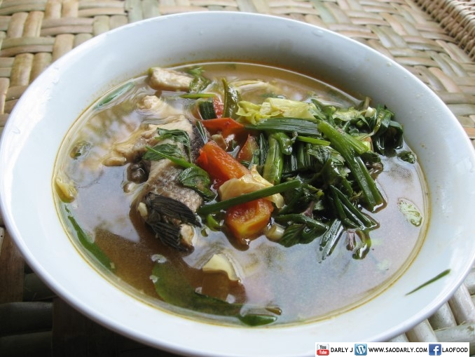 Lao fish soup
